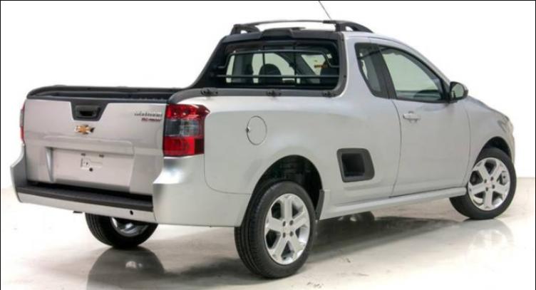 2019 Chevrolet Montana Exterior