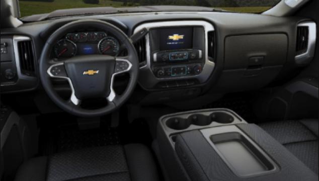 2019 Chevrolet Silverado 3500HD Interior