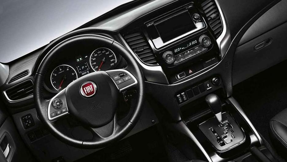 2019 Fiat Fullback Interior