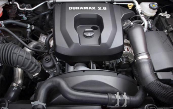 2020 Chevrolet Silverado 2500 HD Engine