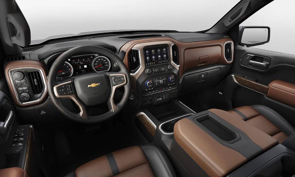 2020 Chevrolet Silverado 2500 HD Interior