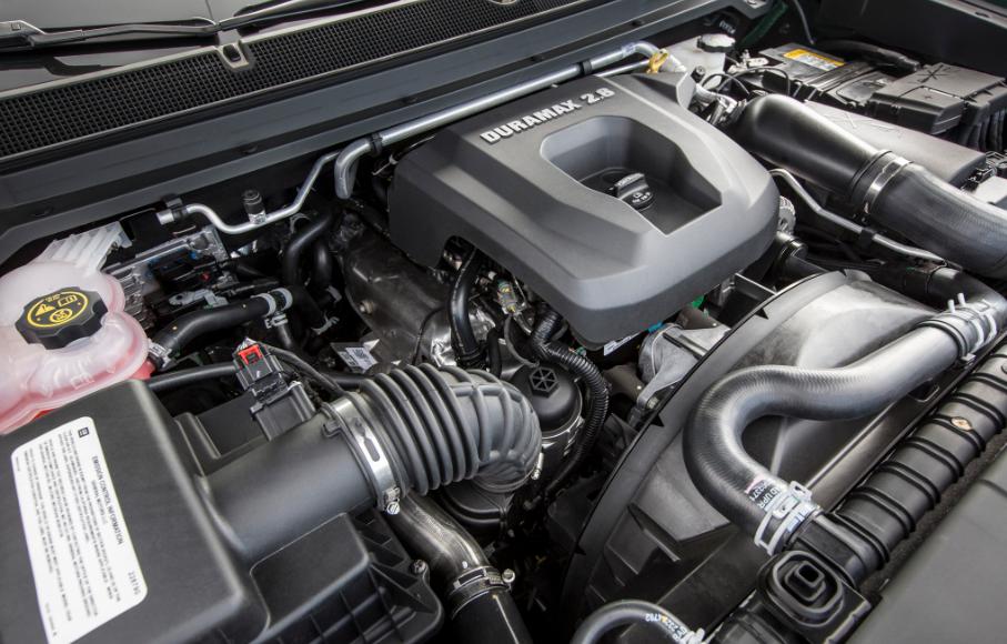 2021 GMC Canyon Denali Engine
