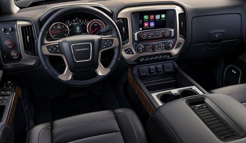 2020 GMC Sierra 2500HD Interior