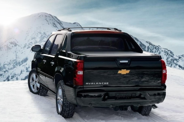 2019 Chevy Avalanche Exterior