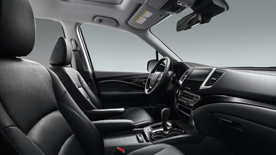2019 Honda Ridgeline Black Edition Interior