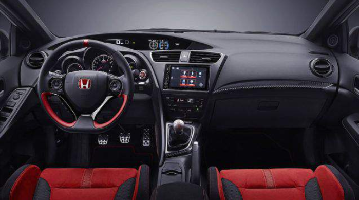 2019 Honda Ridgeline Type R Interior