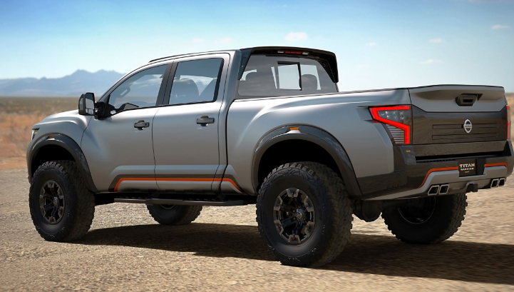 2020 Nissan Titan Exterior