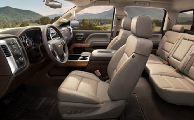 2019 Chevrolet Silverado 3500 HD Interior