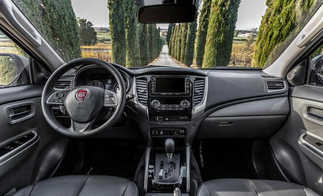 2019 Fiat Fullback Cross Interior