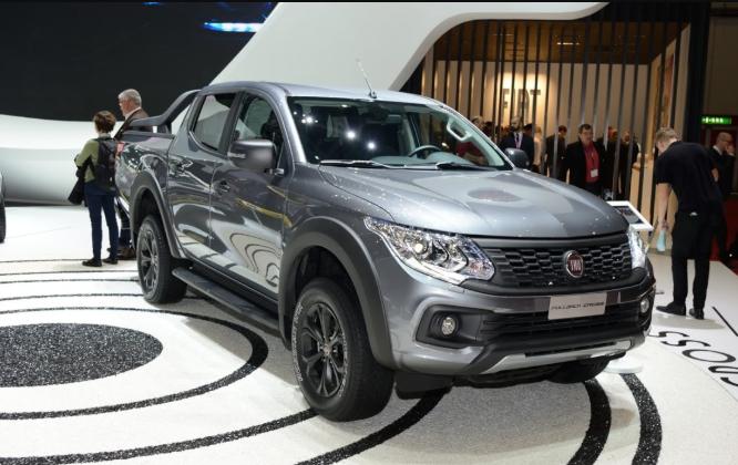 2019 Fiat Fullback Cross Exterior