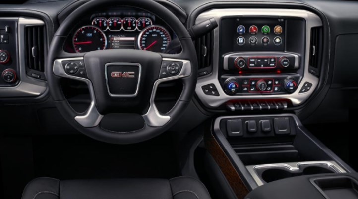 2019 GMC Sierra 3500 Interior