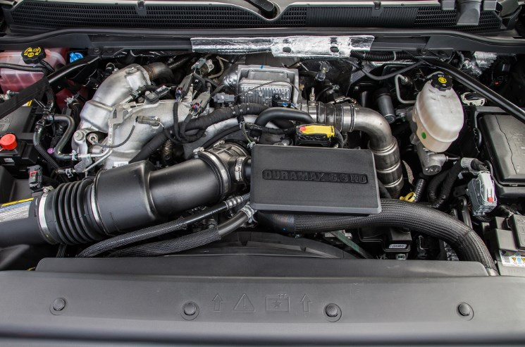 2019 GMC Sierra Hybrid Engine