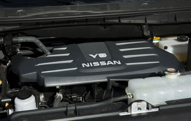 2019 Nissan Titan Engine