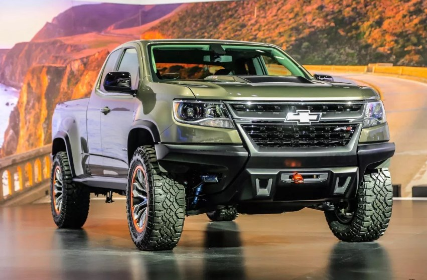 2020 Chevrolet Colorado S-10 Exterior