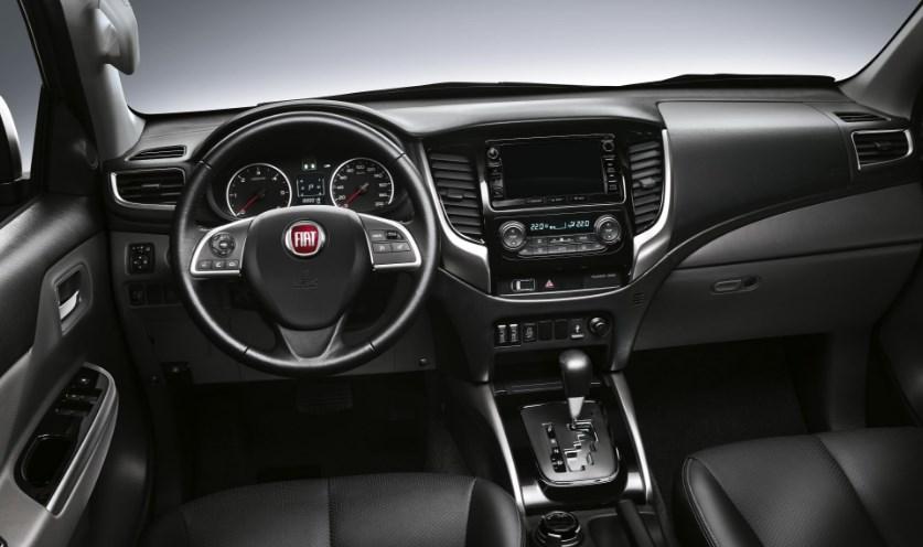 2020 Fiat Fullback Interior