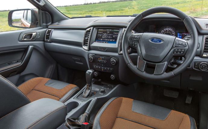 2020 Ford Ranger Wildtrak Interior