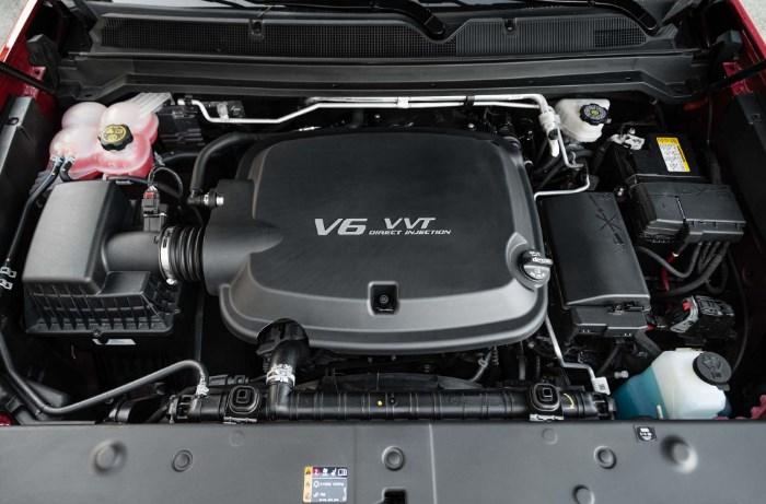 2020 GMC Canyon Engine
