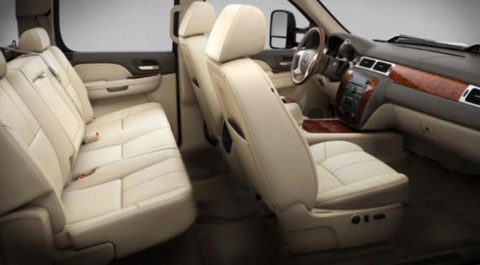2020 GMC Sierra 3500 Interior