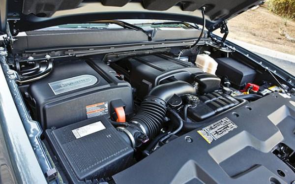 2020 GMC Sierra Hybrid Engine