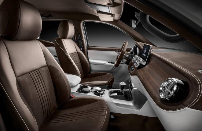 2020 Mercedes X Class Interior