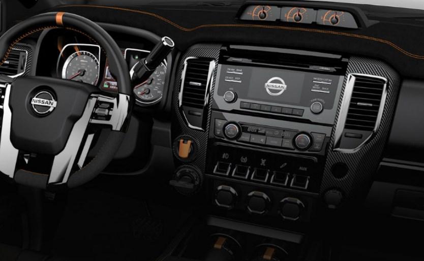 2020 Nissan Titan Interior