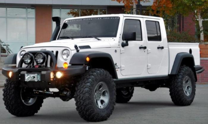 2021 Jeep Scrambler Exterior