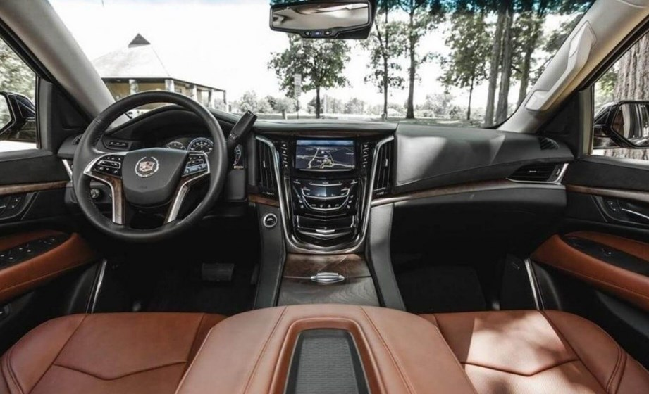 2019 Cadillac Escalade EXT Interior