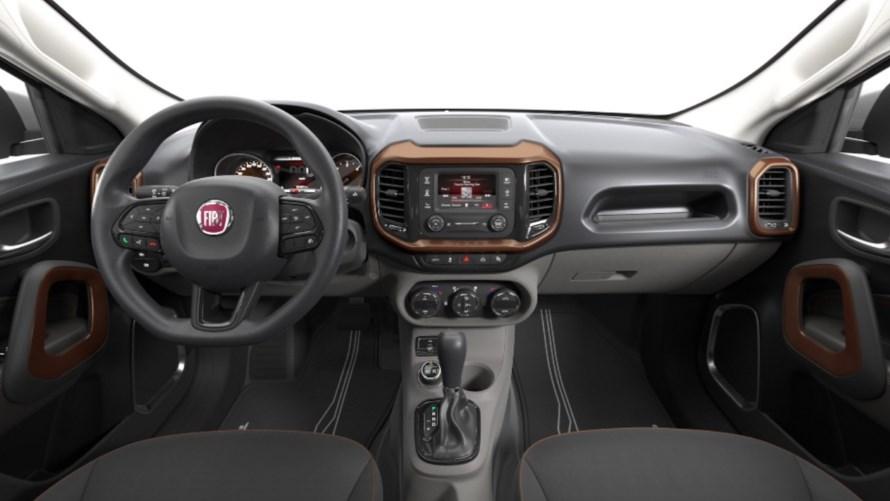 2019 Fiat Toro Interior