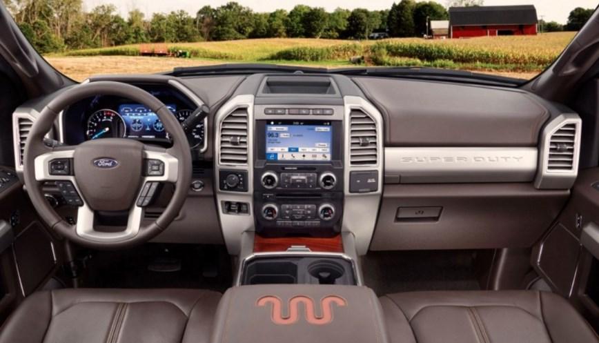 2019 Ford F-250 Interior