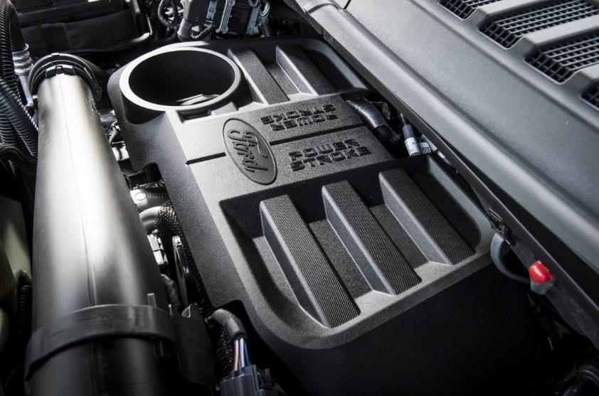 2019 Ford F-550 Engine