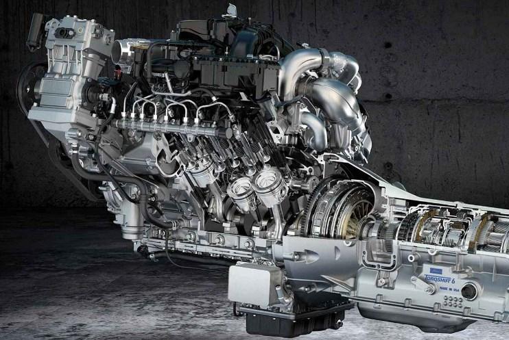 2019 Ford F-750 Engine
