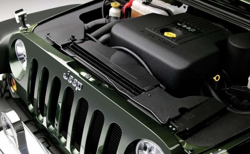 2019 Jeep Gladiator Engine