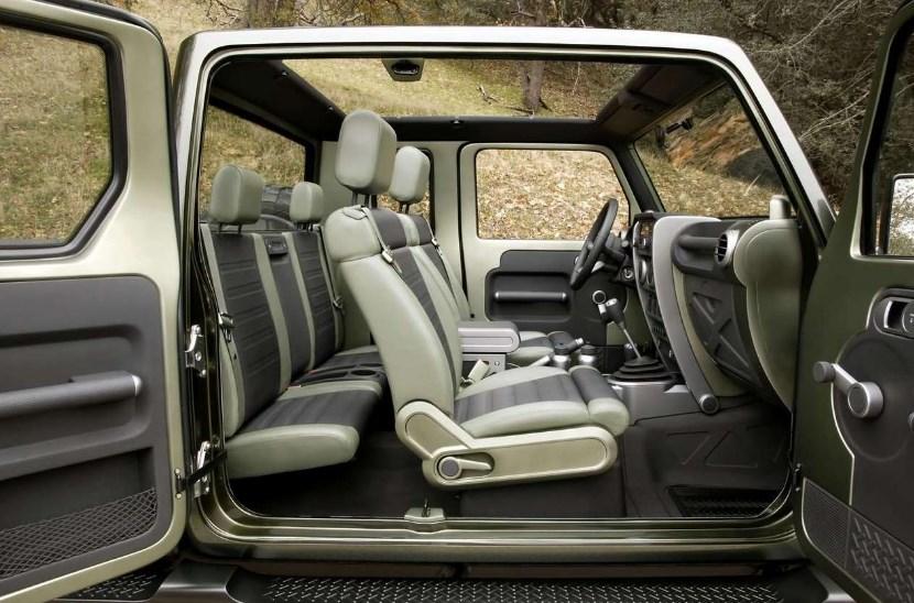 2019 Jeep Gladiator Interior