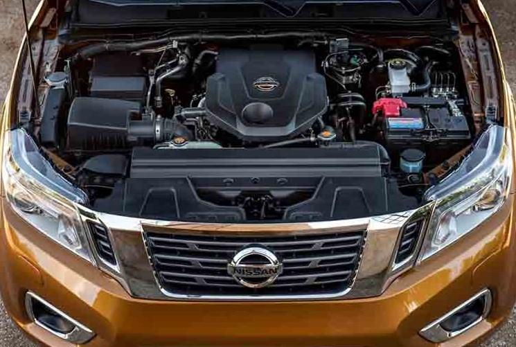 2019 Nissan Navara Engine