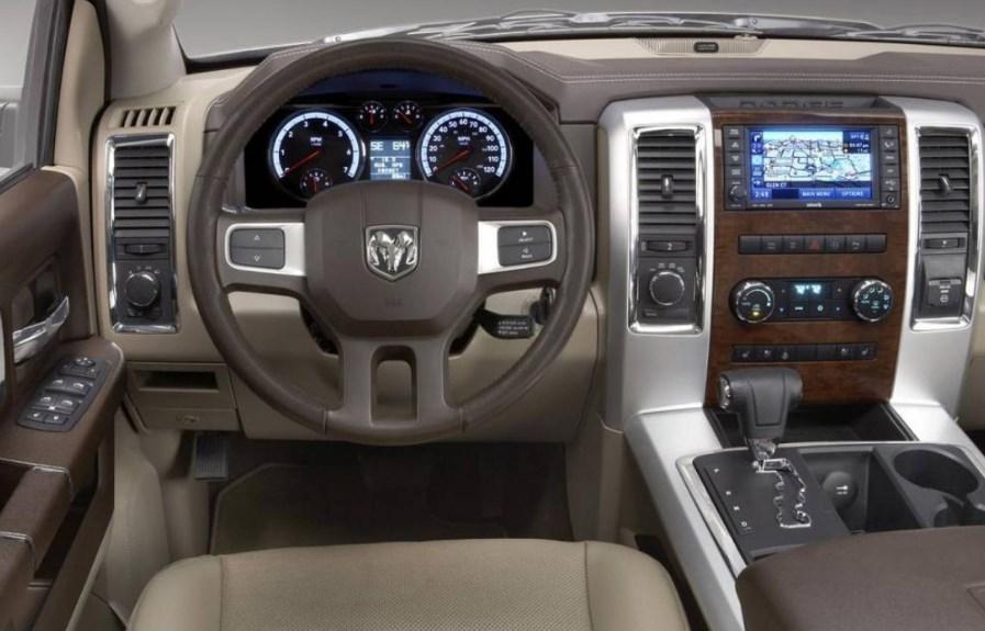 2020 Dodge Dakota Interior