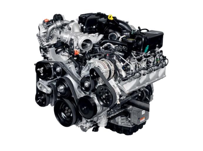 2020 Ford F-550 Engine