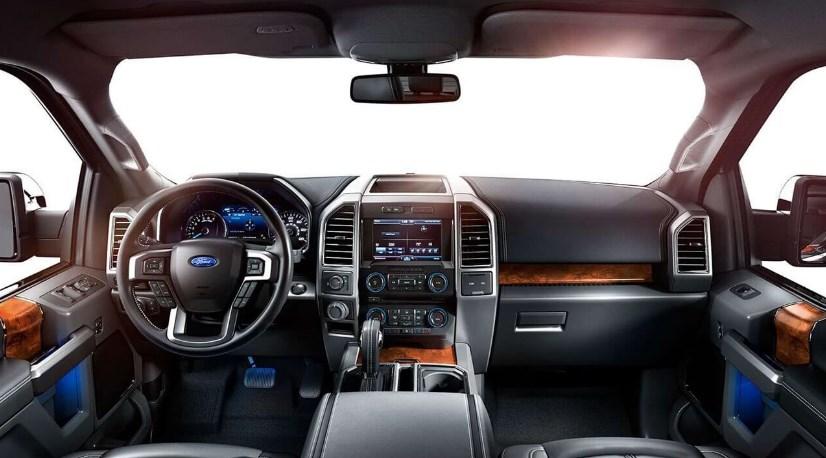 2020 Ford F-650 Interior