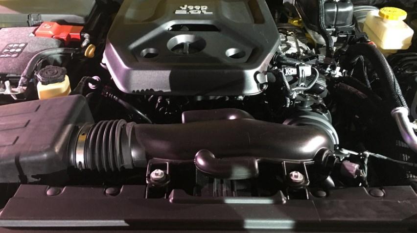 2020 Jeep CJ-8 Engine