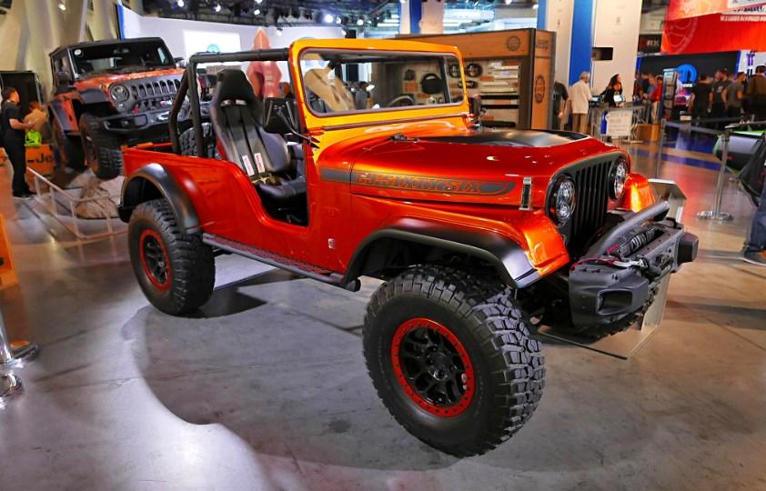 2020 Jeep CJ-8 Exterior
