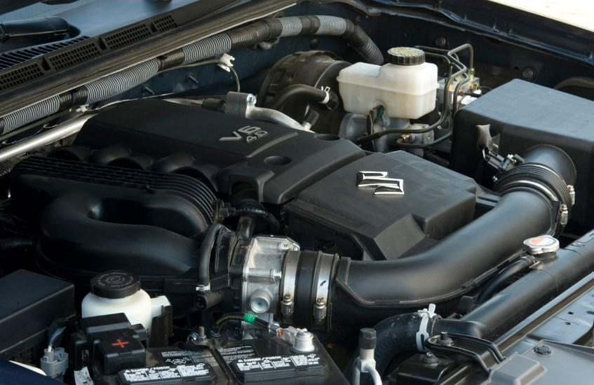 2020 Suzuki Equator Engine
