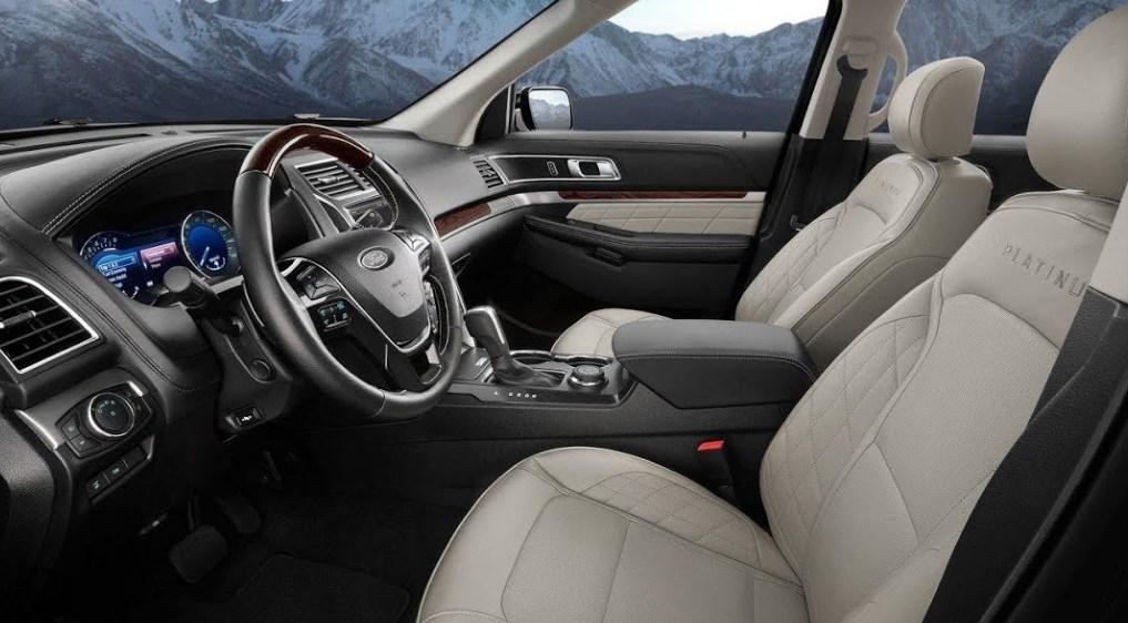 2019 Ford Explorer Sport Trac Interior