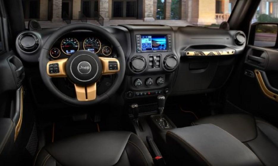 2019 Jeep CJ-8 Interior