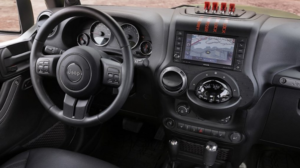 2019 Jeep Comanche (MJ) Interior