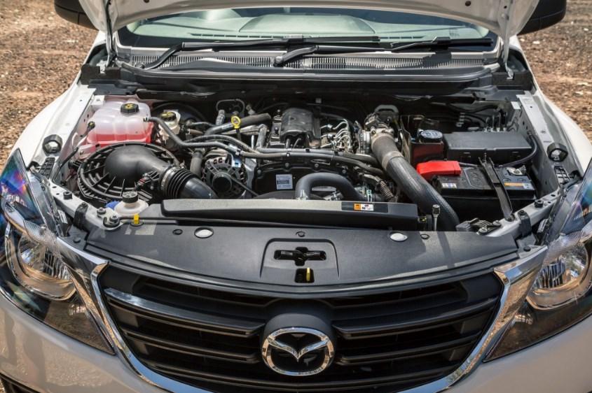 2019 Mazda BT-50 Engine