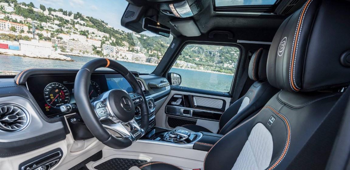2019 Mercedes-Benz G-Class AMG 6X6 Interior