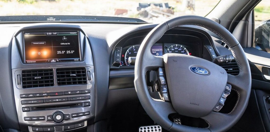 2020 Ford Falcon Ute Interior