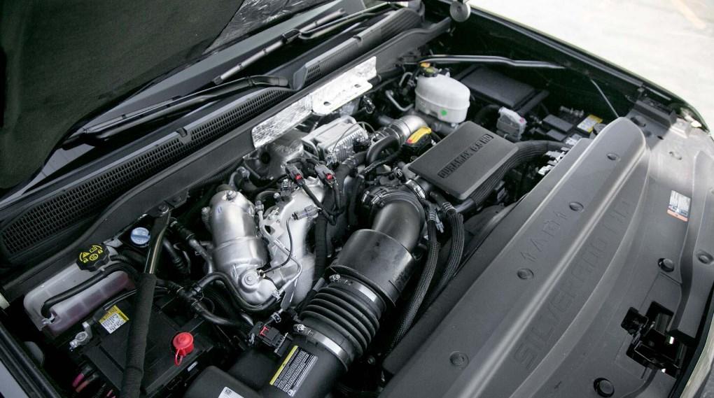 2021 Chevrolet Silverado 3500 HD Engine