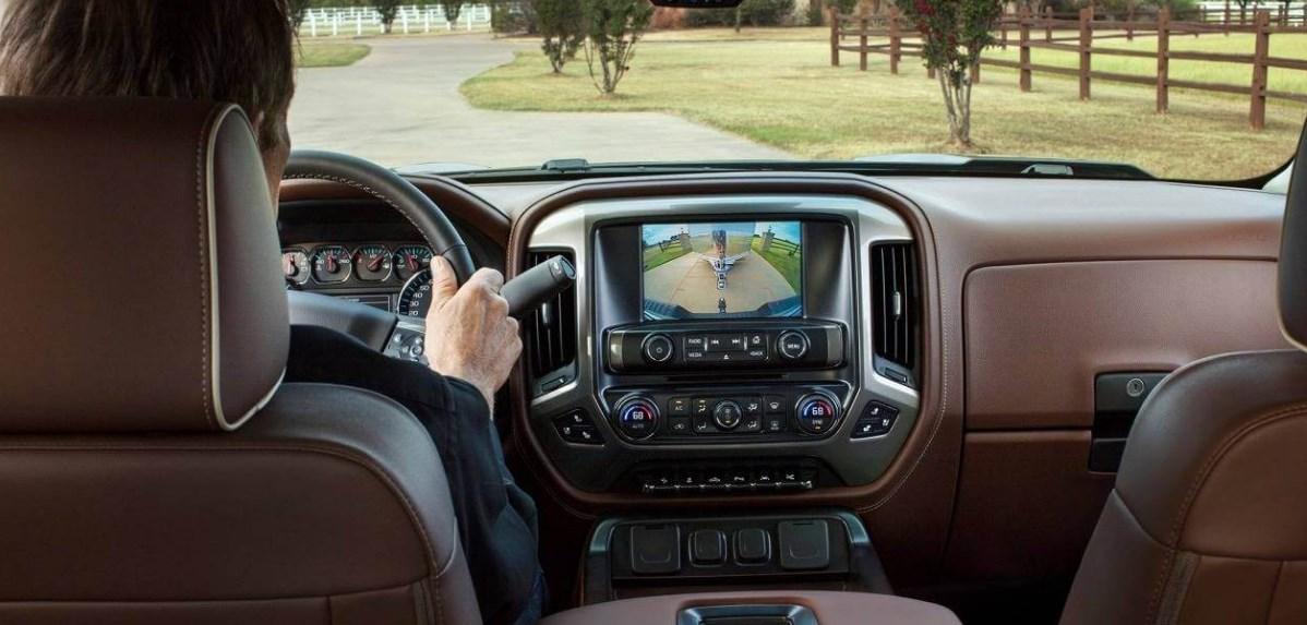 2021 Chevrolet Silverado 3500 HD Interior