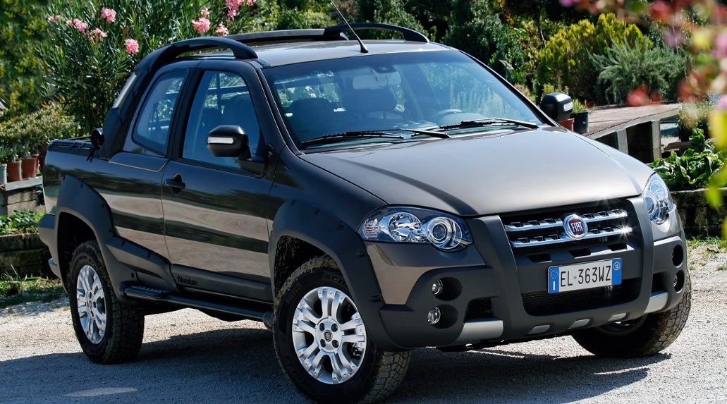 2021 Fiat Strada Exterior