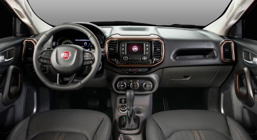 2021 Fiat Toro Interior